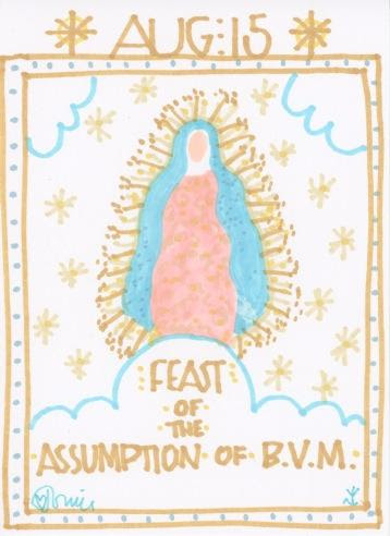 Assumption of Mary 2018