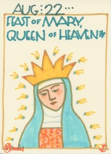 Mary Queen of Heaven 2018
