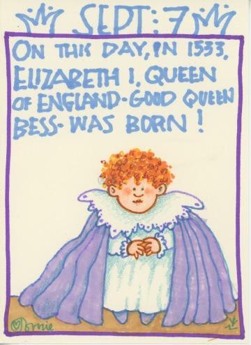 Queen Elizabeth I 2018