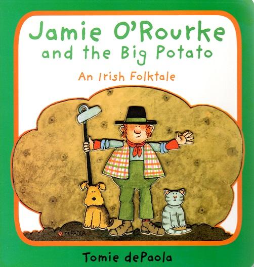 Jamie O'Rourke and the Big Potato BOARD BOOK