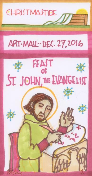 Saint John the Evangelist 2016.jpg