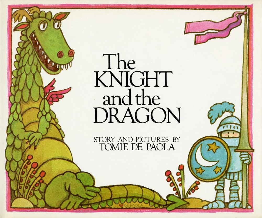 Knight and the Dragon, The HC.jpg