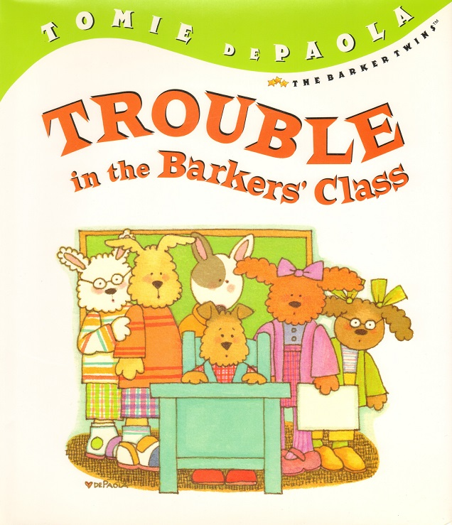 Trouble in the Barkers' Class.jpg