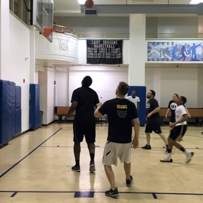 Staff vs. Students Basketball Game