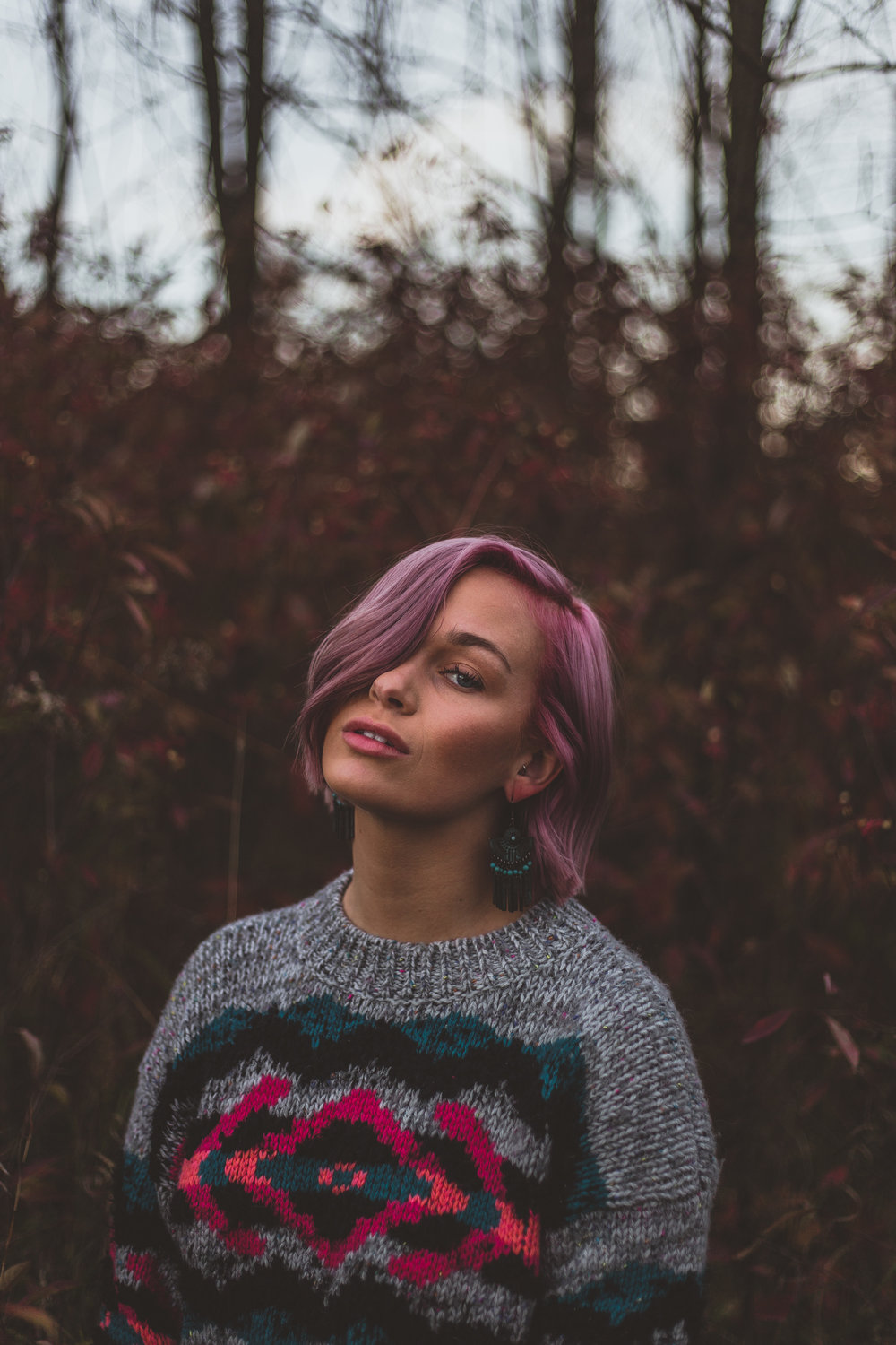 Hair Matches Background Leaves.jpg