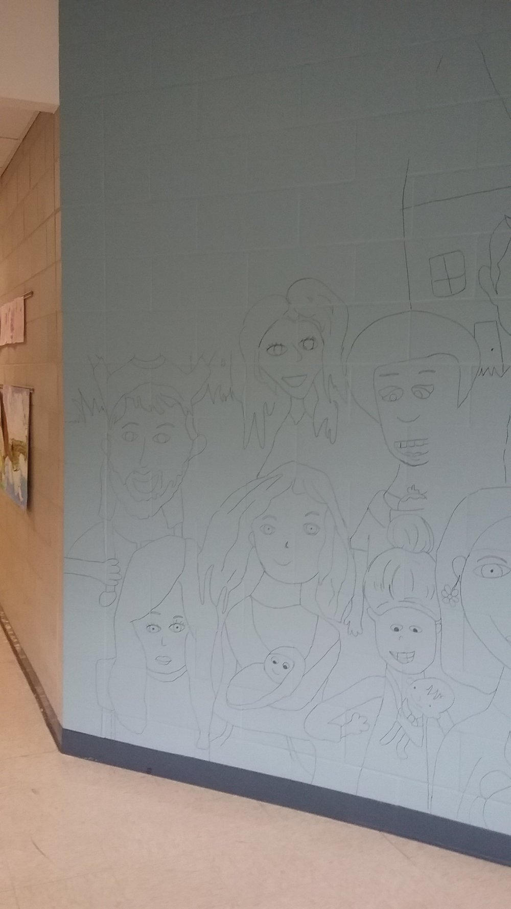 Week #1: Mural Project  What a relief it is to find out the thing you have been pretending that you know how to do turns out to be something that you might actually be able to do!