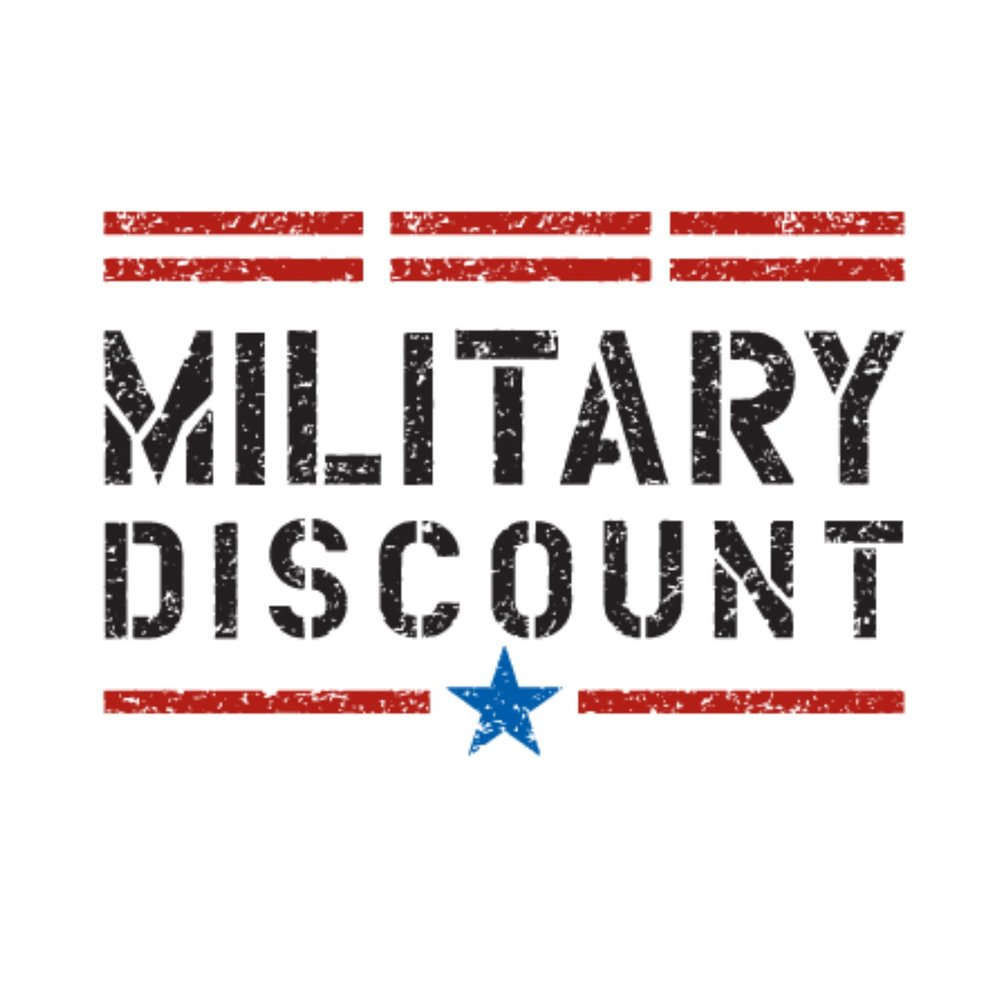Armed Forces & First Responders Discount -