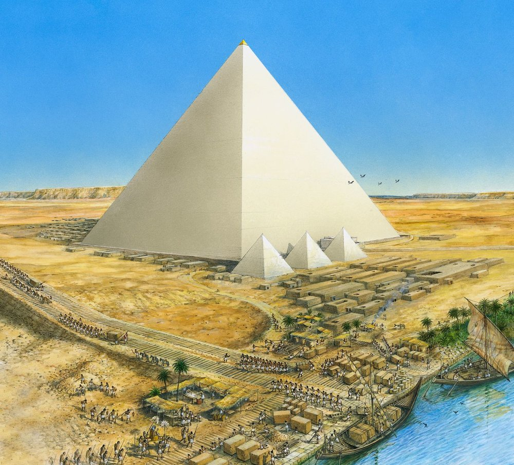 an introduction to the history of the great pyramid The so called father of history, the greek/turkish traveller herodotus who lived from approx' 484-425 bc is the person to blame for the impractical timespan allotted to the great pyramid's construction, a timespan that has been steadfastly adhered to by the cronies of egyptology for far too long.