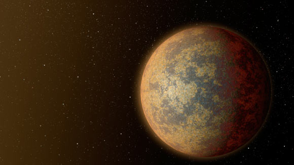 This artist's concept shows a super-Earth-size exoplanet. Image credit: NASA / JPL-Caltech. Designated Gliese 3942b, the newfound alien world is about 7.1 times as massive as the Earth.