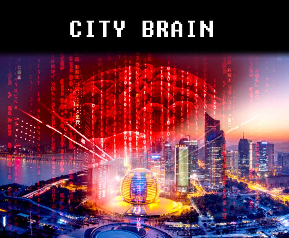 China's artificially intelligent city supercomputer... that spies on everything.