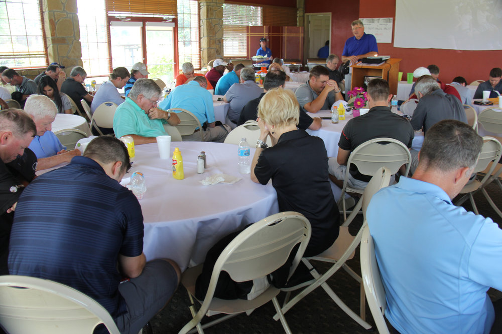 Prayer time for ServingHIM and the future.