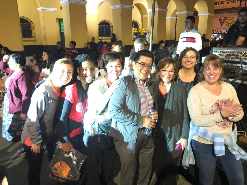 Guatemala team at concert.jpeg