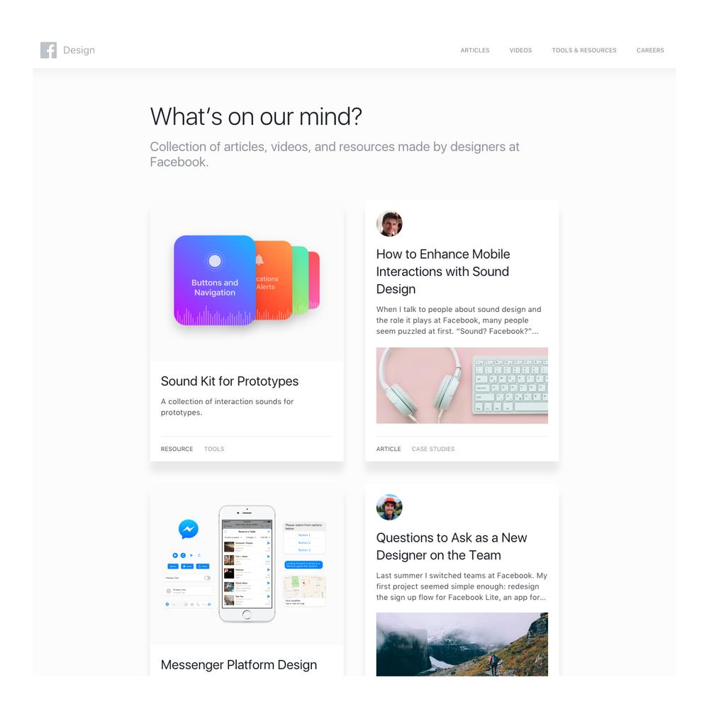 facebook.design