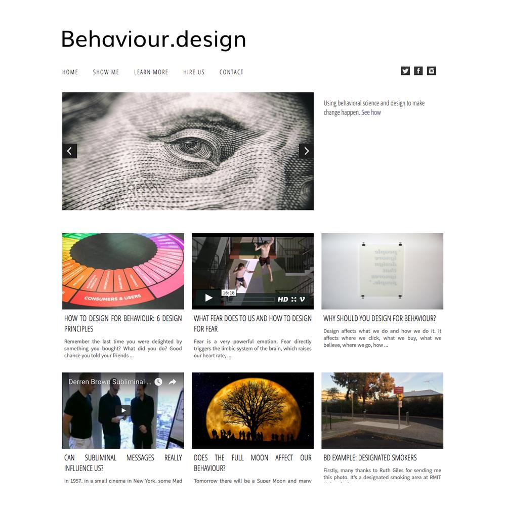 behaviour.design