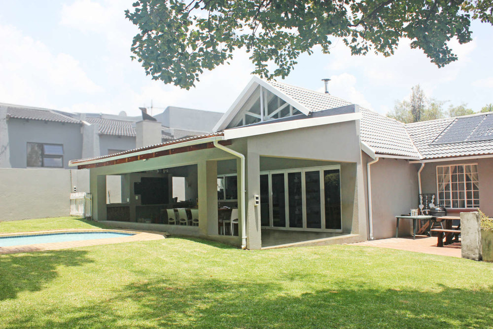 House Minnie - Addition and Alteration to an existing house in Wendywood, Johannesburg