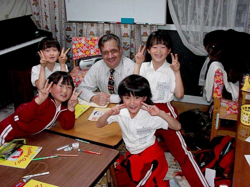 Donald Toth: Japan