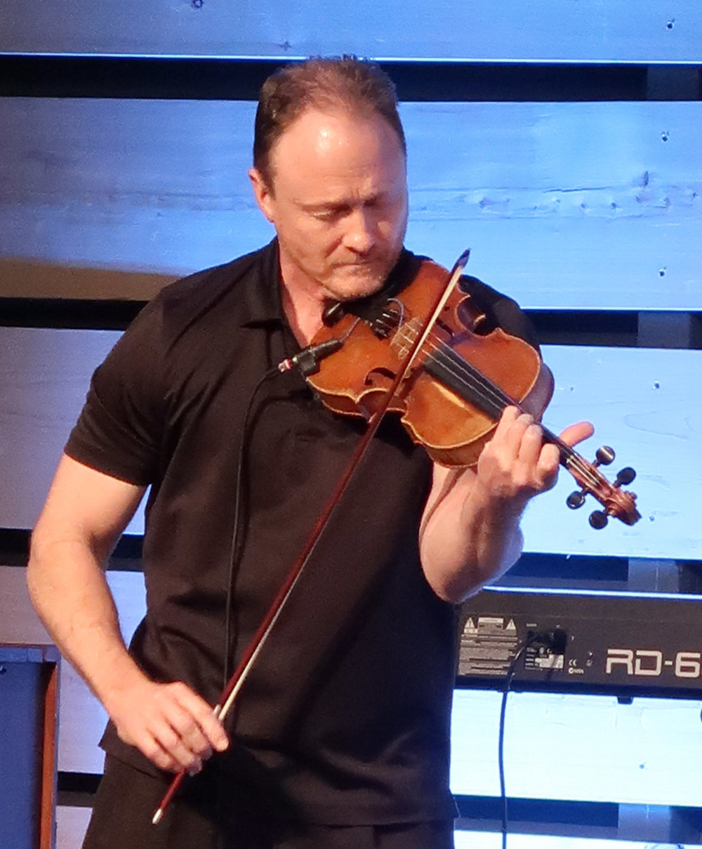 John Myhro performs at the conference.