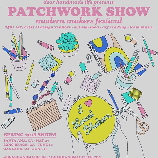 Ready??? I am!!! #PatchworkShow Long Beach here we come!!! Come see my soaps and new creations this Sunday, June 10th at Marine Stadium – Appian Way @ Bayshore Ave. We'll be there 11-5pm. Shop local, eat local, jam local with live music all day long. See you there! . . . #smallbusiness #supportsmallbusiness #supportlocal #3birdsnaturals #longbeachlife #soapersofinstagram #southbaysoaper #bathsoaksalts #foamingbodybutter #bathcakes #bathscoops