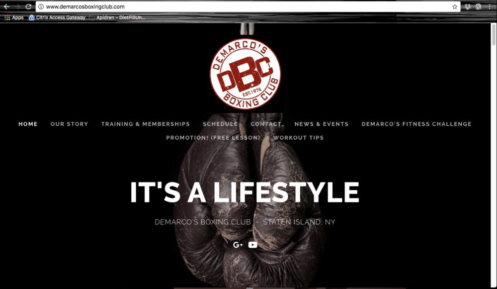 www.demarcosboxingclub.com