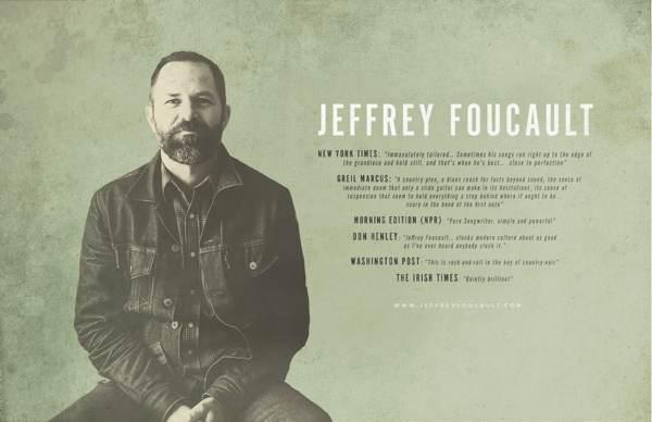 Jeffrey Foucault 2018 Tour Poster