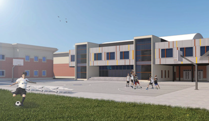 Horizon Juvenile Center Modular Buildings Project