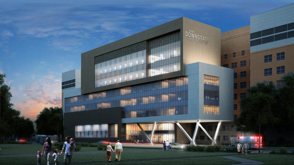 SUNY Downstate Medical Center - Medical Building Renovation