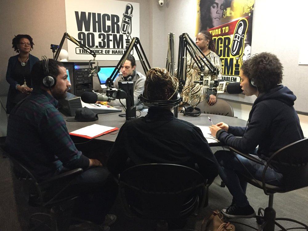 CUNY City College of New York - WHCR 90.3 Radio Station