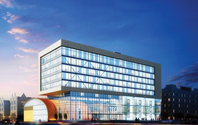 CUNY City College of Technology - New Mixed-Use Academic Building