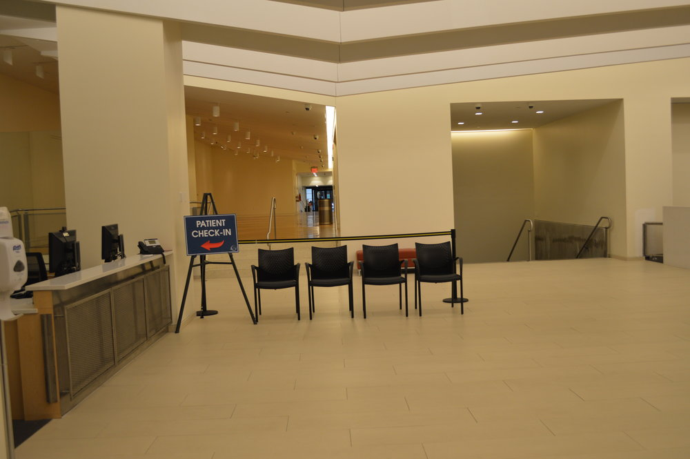 SUNY College of Optometry - Lobby Renovations