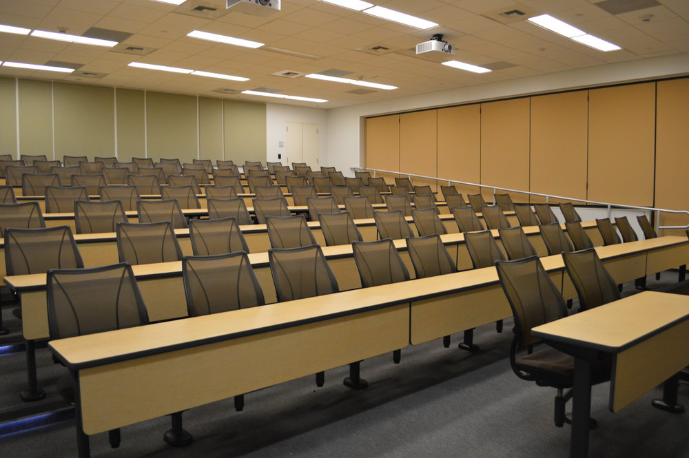 SUNY College of Optometry - Rehabilitate Second Floor Lecture Halls
