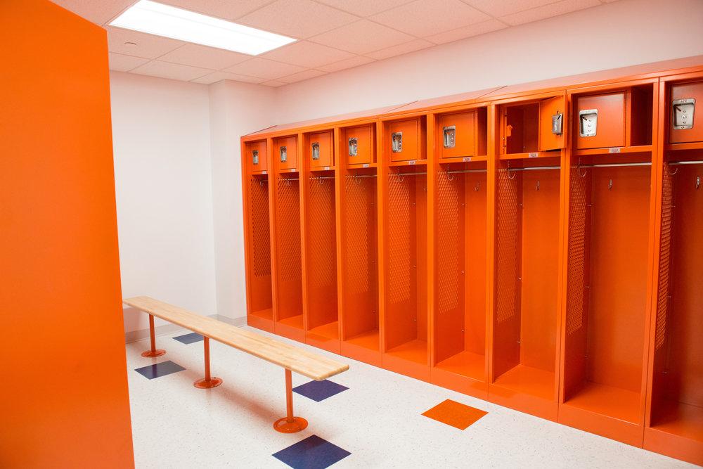 SUNY New Paltz - Locker Room Renovations