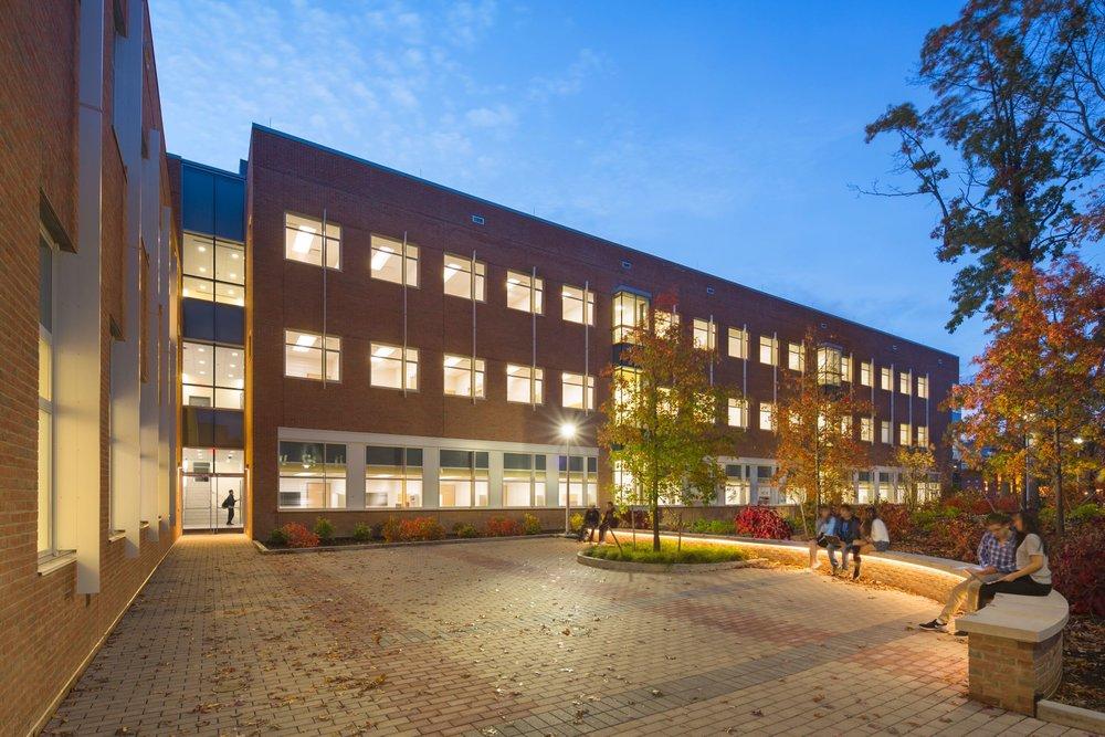SUNY Stony Brook - Computer Sciences Building