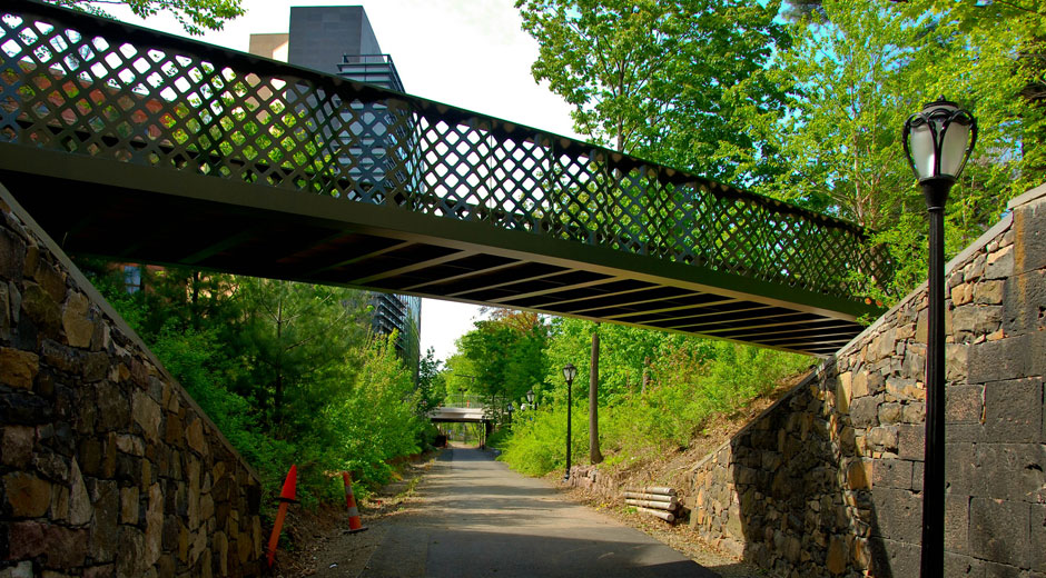 Yale University - Hillhouse Avenue Bridges