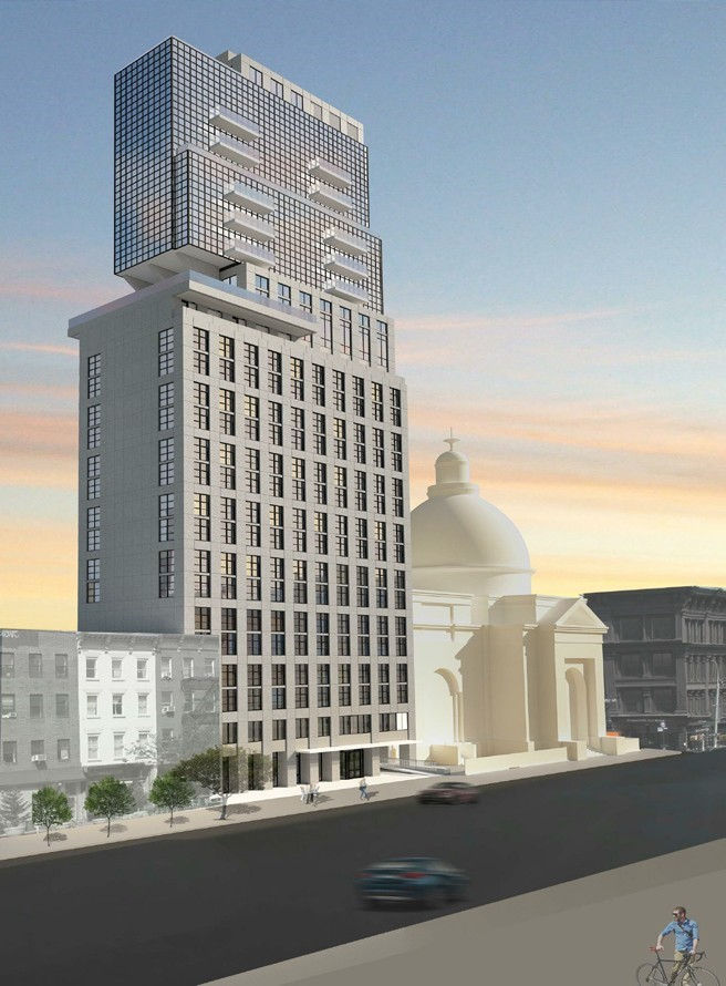 Hotel and Residences at 159 Broadway