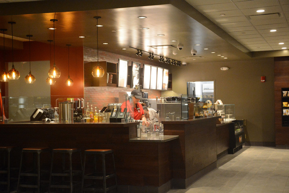 Starbucks at Melville Library (Stony Brook University)