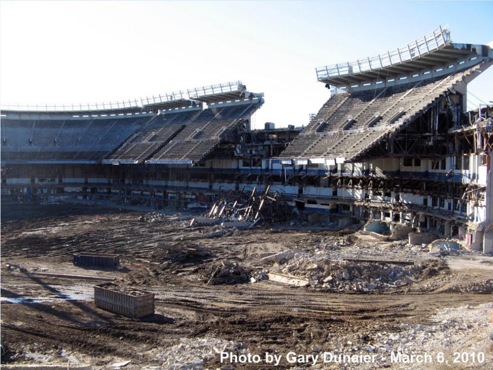 Yankee Stadium Demolition