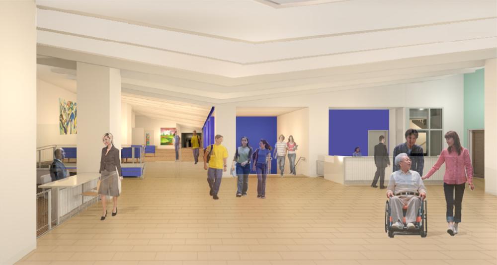 SUNY Optometry - Lower Lobby Renovation