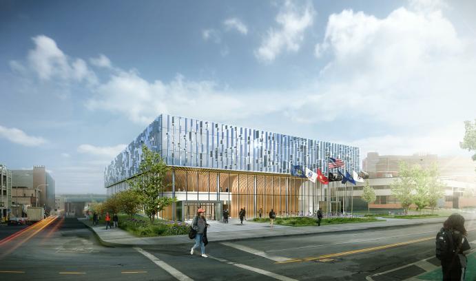 Syracuse University - National Veterans Resource Complex