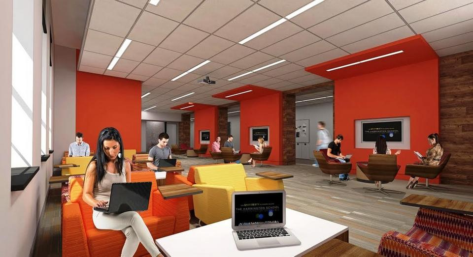 University of Rhode Island - Harrington School of Communications & Media - Ranger Hall Phase II