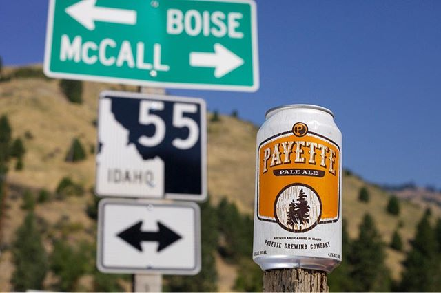 Throw🔙 to an OG beer. A recipe stemmed from passion and a name that came easy. Idaho is where our story began and the Payette river, forest and lake are where we find our inspiration and escape. #adventureswithpayette #idahome