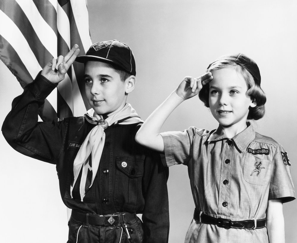 Scouting - The Elks support Boys and Girls Scouts across the Buckeye State.
