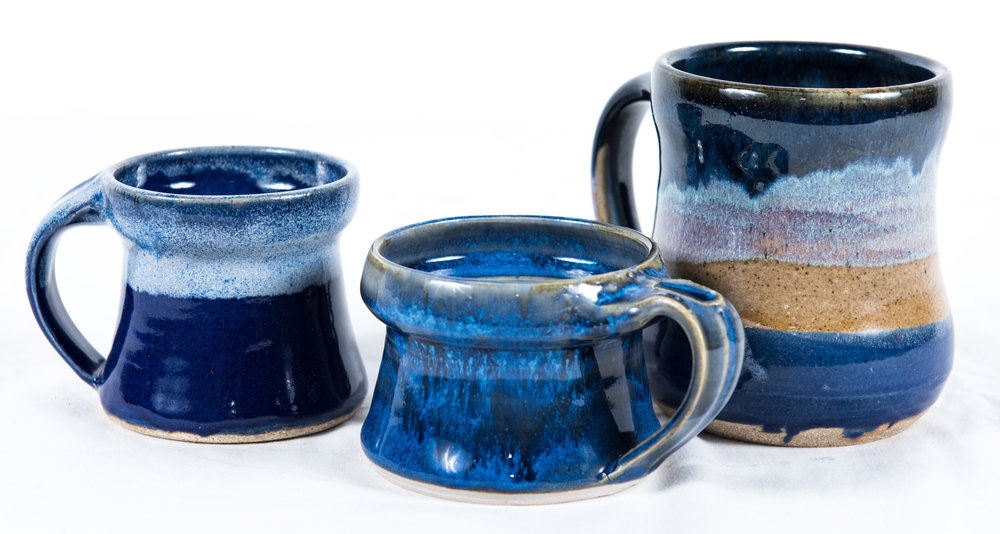 2. Ty Illgen Ceramic Mugs, $18.00