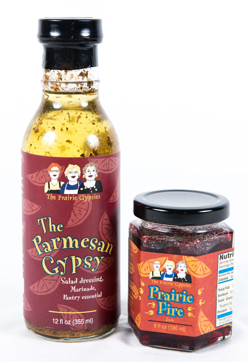 4. The Prairie Gypsies Jams & Dressing, $7.50 each