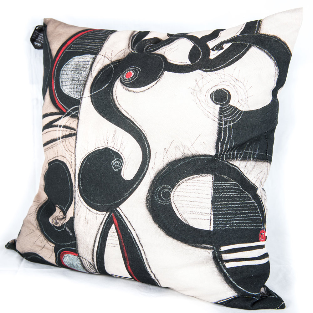 9. Janet O'Neal Accent Pillow, $75.00