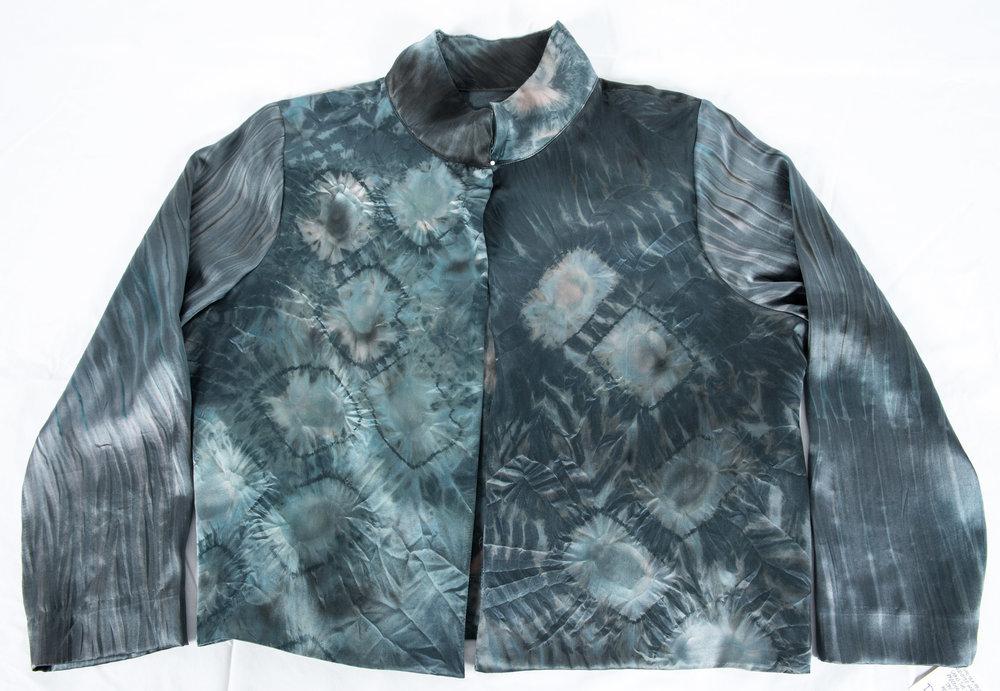 10. Diane Coady Hand-dyed Silk Jacket, $198.00