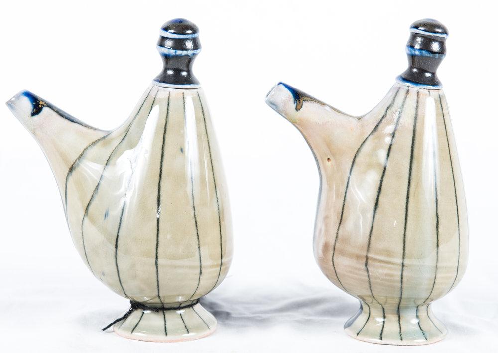 5. Mariah Addis Porcelain Jars, from $30.00