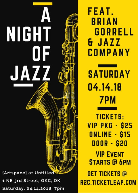 Yellow and Black Jazz Night Saxophone Illustration Concert Flyer.jpg