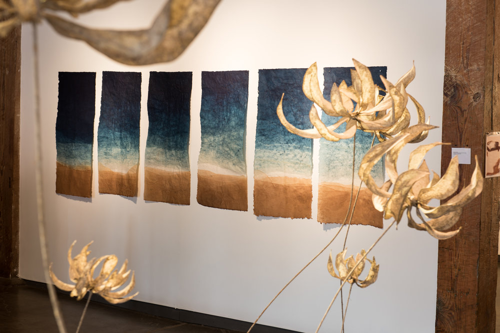 Megan Singleton's Fluvial Terra - September 7th - October 28th