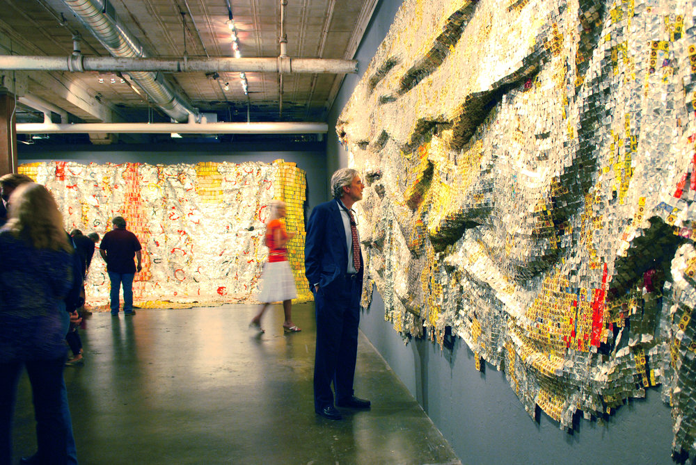 El Anatsui: Cloth Series - September 18th - November 7th