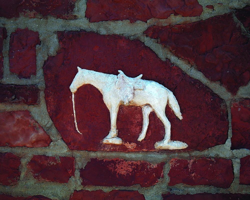 Augusta Metcalfe's Plaster Horse, 16x20, trad. photography, 2006.jpg